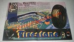 1933 Firestone Tire Ad - A Century of Progress Exhibit