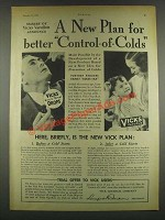 1932 Vicks VapoRub and Nose & Throat Drops Ad