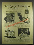 1932 Some Recent Developments in Zoology - Dr. Seuss