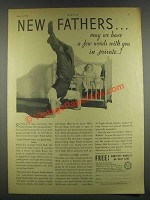 1932 Borden Eagle Brand Milk Ad - New Fathers