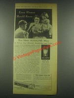 1932 Alka-Seltzer Medicine Ad - Every Woman Should Know