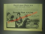 1932 Beech-Nut Gum Ad - There's More Chicle in It