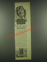 1931 Mennen Shaving Cream, Talcum and Skin Bracer Ad