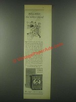 1931 Sir Walter Raleigh Tobacco Ad - Pinched