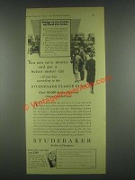 1930 Studebaker Cars Ad - You Can Save Money