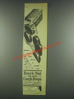 1930 Beech-Nut Black Cough Drops Ad