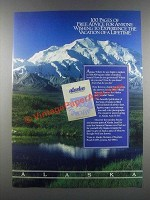 1985 Alaska Tourism Ad - Advice for Anyone