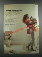 1985 Allied Van Lines Ad - There Is a Difference