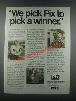 1985 BASF Wyandotte Corporation Pix Plant Regulator Ad