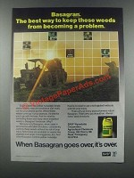 1985 BASF Basagran Herbicide Ad - The Best Way
