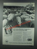 1985 MoorMan's 2nd Century Mintrates Ad