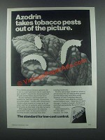 1985 Shell Azodrin 5 Ad - Takes Tobacco Pests Out
