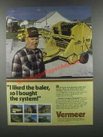 1985 Vermeer 605H Baler Ad - I Bought the System