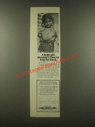 1985 Children, Inc. Ad - Girl Shouldn't Have to Beg
