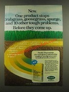 1985 Scotts ProTurf Turf Weedgrass Control Ad