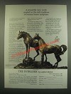 1985 The Franklin Gallery Ad - The Intruder Sculpture