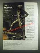 1985 The Western Heritage Museum Ad - The Cavalryman