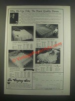 1985 The Company Store Down Comforter Ad - Austrian