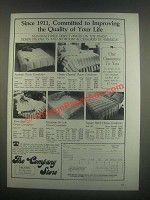 1985 The Company Store Down Comforter Ad - Karo Step