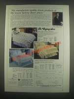 1985 Company Store Down Comforter Ad - Classic Channel