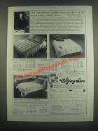 1985 Company Store Down Comforter Ad - Gstaad