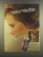 1985 Breck Styling Mousse Ad - Remembers