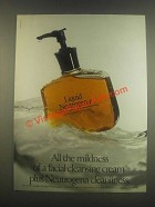 1985 Liquid Neutrogena Ad - All The Mildness