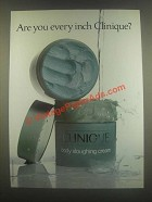 1985 Clinique Body Sloughing Cream Ad - Every Inch