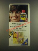 1985 WD-40 Oil Ad - Has Opened New Doors