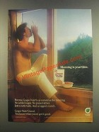 1985 Post Grape-Nuts Ad - Morning Your Time