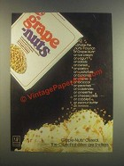 1985 Post Grape-Nuts Ad - Shake the Crunch