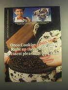 1985 Nabisco Oreo Cookies n' Cream Ice Cream Ad