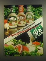 1985 Hidden Valley Ranch Dressing Ad - A Dilemma