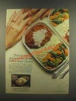 1985 Armour Dinner Classics Veal Parmigiana Ad