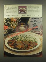 1985 Armour Classic Lite Dinners Ad - Way to Eat Lite