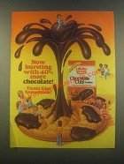 1985 Duncan Hines Chocolate Chip Cookies Ad - Bursting