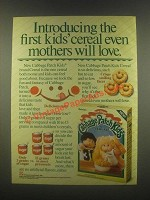 1985 Ralston Cabbage Patch Kids Cereal Ad