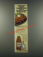 1985 Durkee RedHot Ad - A Buffalo Wing