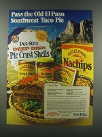 1985 Old El Paso & Pet-Ritz Pie Crust Shells Ad