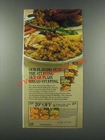 1985 Rice-A-Roni Stuffing Ad - Our Flavors Beat