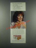 1985 Weight Watchers FrozenFoods Ad - Lynn Redgrave