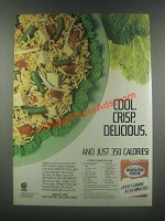 1985 Minute Rice Ad - Chicken Salad Orientale Recipe