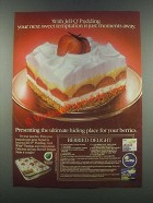 1985 Jell-O Pudding & Cool Whip Topping Ad - Temptation