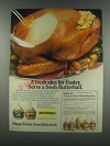 1985 Butterball Turkey Ad - A Fresh Idea for Easter