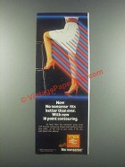 1985 No Nonsense Panty Hose Ad - Fits Better Than Ever