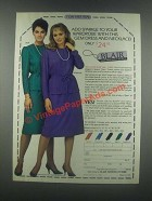 1985 Blair Gem Dress and Necklace Ad - Add Sparkle