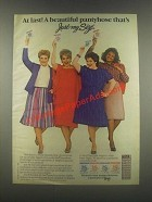 1985 L'eggs Just My Size Pantyhose Ad - At Last!