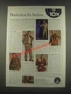 1985 10x Boots and Garments Ad - Perfection in Action