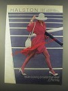 1985 JCPenney Halston III Hosiery Collection Ad