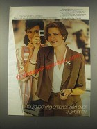 1985 JCPenney Wyndham Blouse, Skirt & Jacket Ad